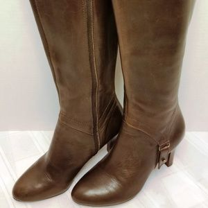 NWOB. Etienne Aigner E-Becca Brown Boots Size 7.5